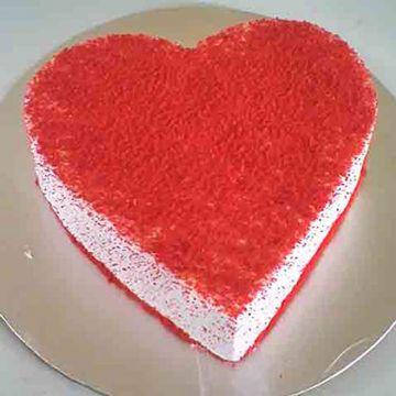 Heartshaped Red Velevt
