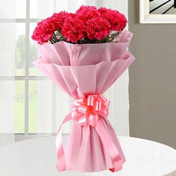 Pinkish Carnations
