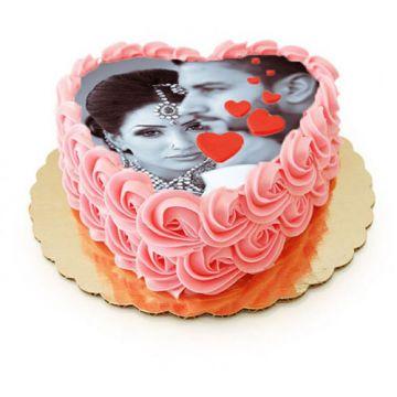Heart Shape Special Cake