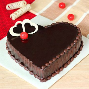 Heart Shape Chocolate Treat