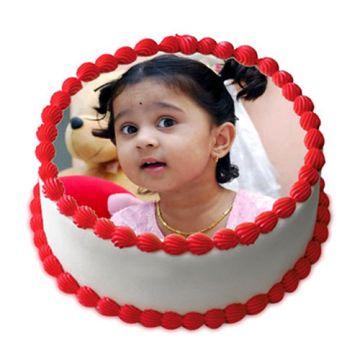 Kids Photo Cake
