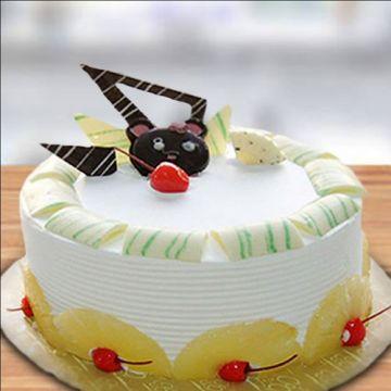 Chocolaty Pineapple Cake