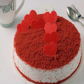 Truly Red Velvet Cake