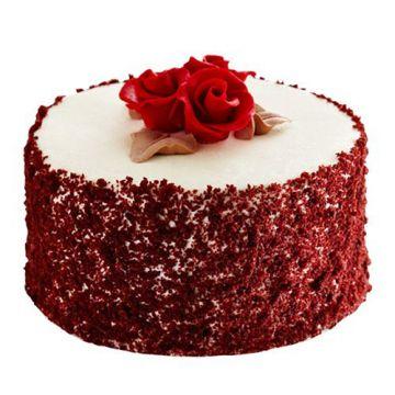 Rose Velvet Cake