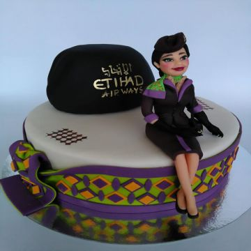 Airhostess Cake