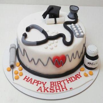 Birthday Doc Cake