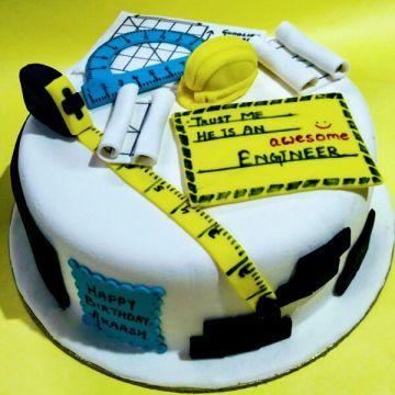 Birthday Engineer Cake