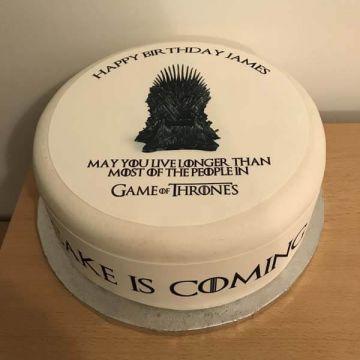 Birthday GOT Cake