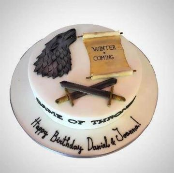 Birthday GOT Lover Cake