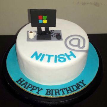 Birthday IT Engineer Cake