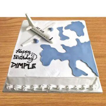 Birthday Overseas Cake