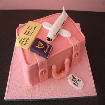 Birthday Travelcase Cake