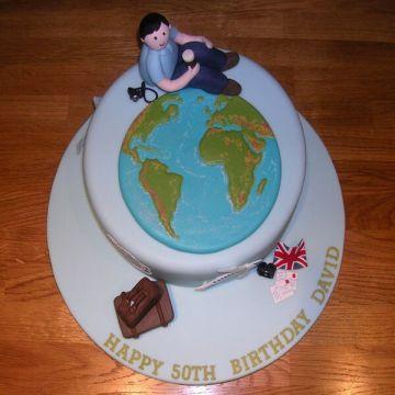 Birthday World Tour Cake