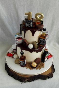 Alcoholic Buzz Cake