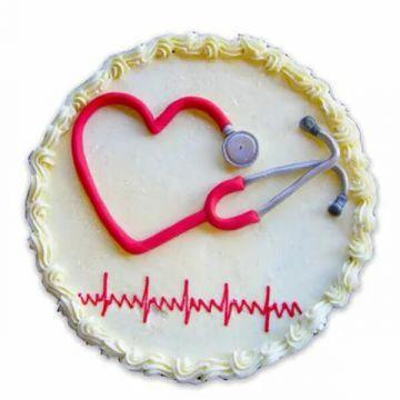 Doc Heart Cake
