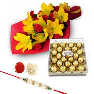 Ferreroic Rakhi Gift