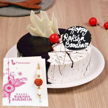 Floody Choco Rakhi Gift