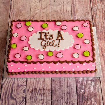It's Girl Dot Cake