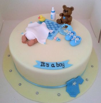 It's Teddy Boy Cake