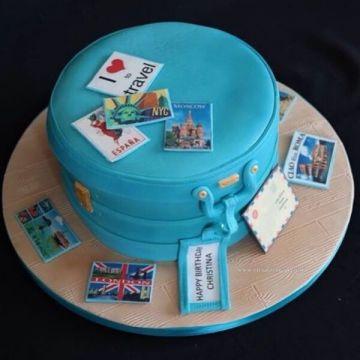 Love to Travel Cake