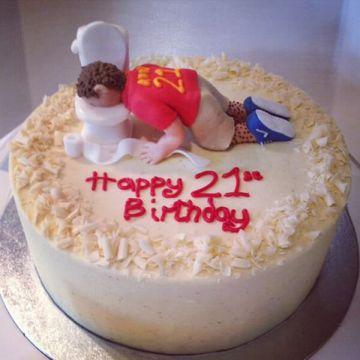 Mr Hangover Cake