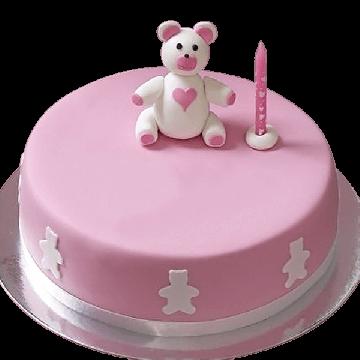 New Born Bear Cake