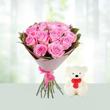 Pinkish Sweet with Teddy