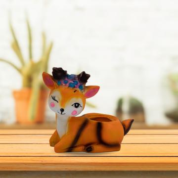 Winking Deer Planter