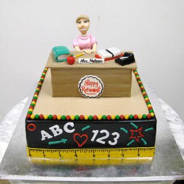 Teacher Retirment Cake
