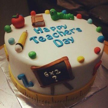 Teachers Special Cake