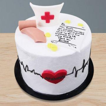 The Nurse Cake