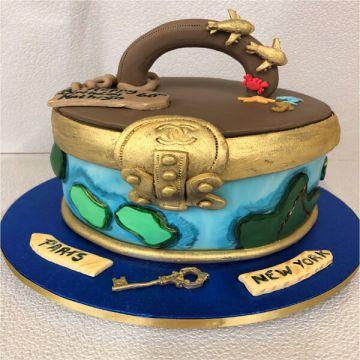 The Travel Caske Cake