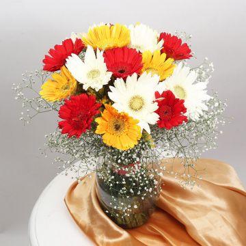 The Vase of Gerberas