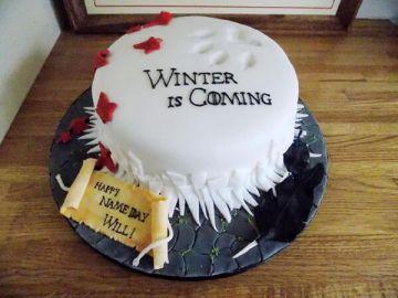 Winter Throne Cake