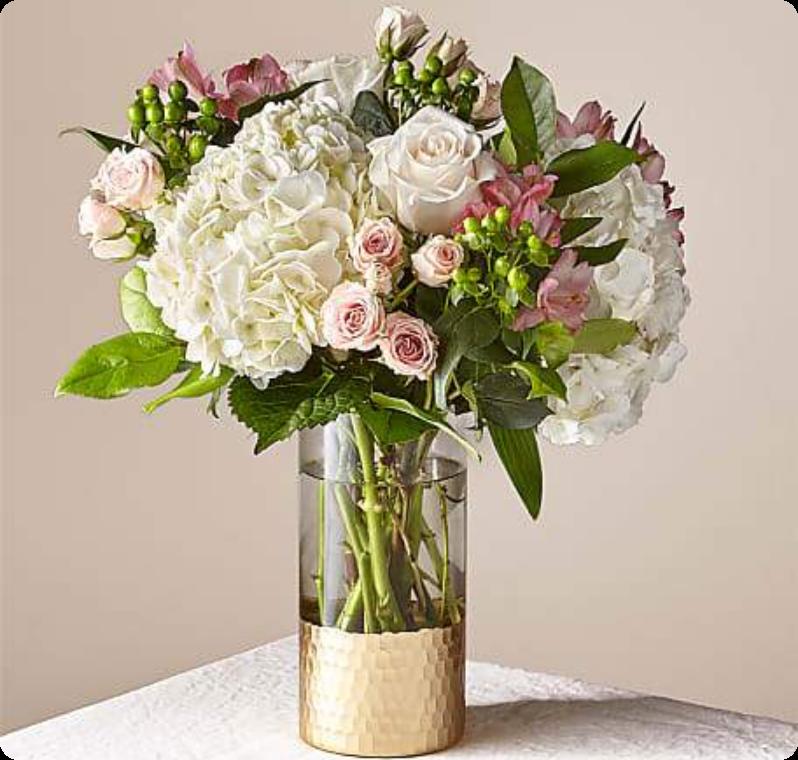 Flowers in Vase/Basket