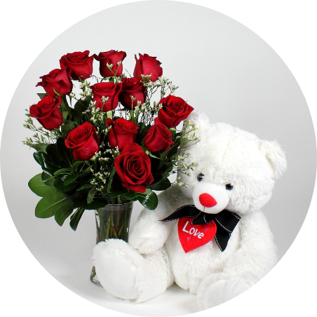Cuddly Roses Combo